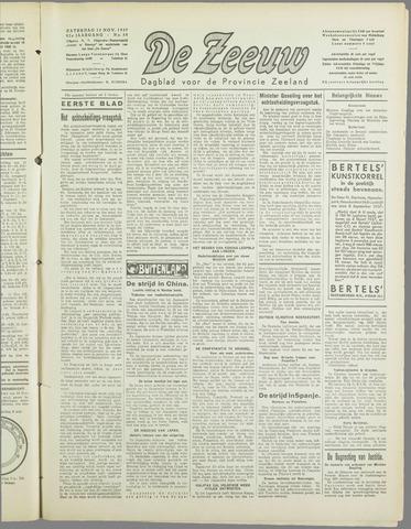 De Zeeuw. Christelijk-historisch nieuwsblad voor Zeeland 1937-11-13
