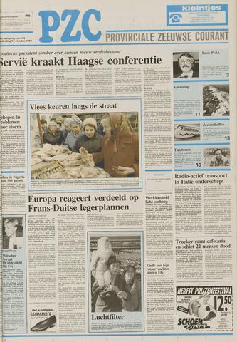 Provinciale Zeeuwse Courant 1991-10-17
