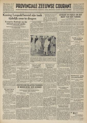 Provinciale Zeeuwse Courant 1950-04-17