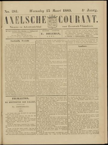 Axelsche Courant 1889-03-13