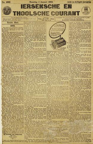 Ierseksche en Thoolsche Courant 1923