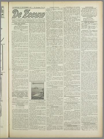 De Zeeuw. Christelijk-historisch nieuwsblad voor Zeeland 1943-11-27
