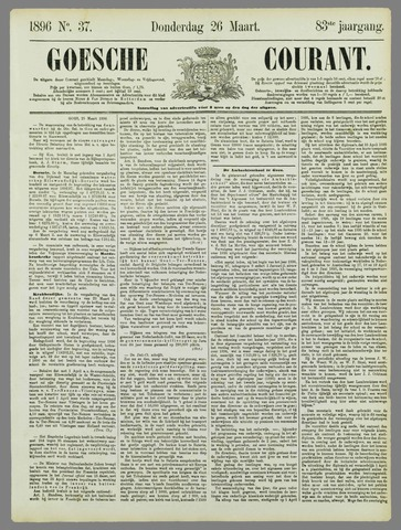 Goessche Courant 1896-03-26