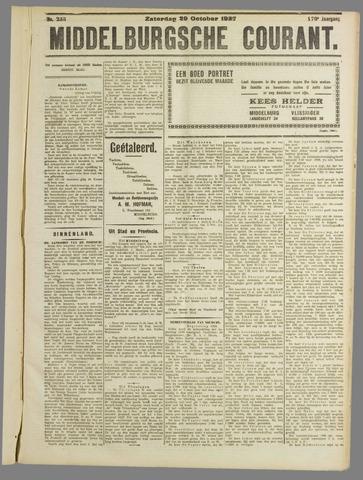 Middelburgsche Courant 1927-10-29
