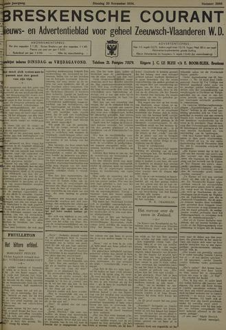 Breskensche Courant 1934-11-20