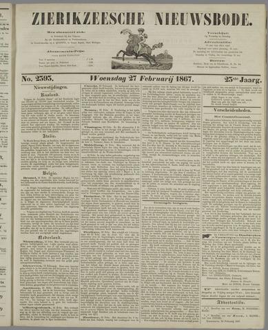 Zierikzeesche Nieuwsbode 1867-02-27
