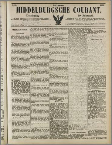 Middelburgsche Courant 1903-02-19