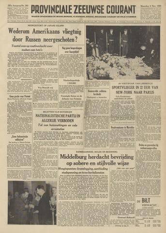 Provinciale Zeeuwse Courant 1954-11-08