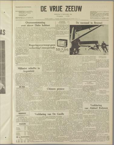 de Vrije Zeeuw 1962-12-12