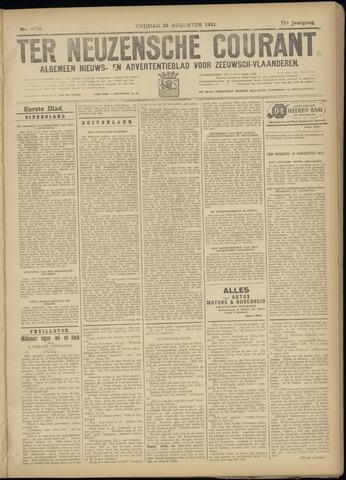 Ter Neuzensche Courant. Algemeen Nieuws- en Advertentieblad voor Zeeuwsch-Vlaanderen / Neuzensche Courant ... (idem) / (Algemeen) nieuws en advertentieblad voor Zeeuwsch-Vlaanderen 1931-08-28