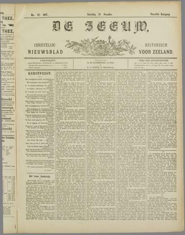 De Zeeuw. Christelijk-historisch nieuwsblad voor Zeeland 1897-12-25