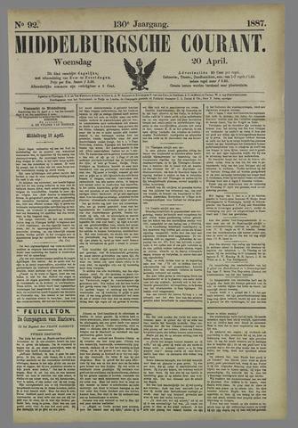Middelburgsche Courant 1887-04-20