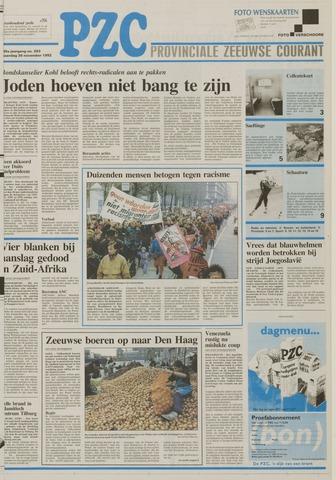 Provinciale Zeeuwse Courant 1992-11-30