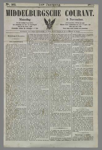 Middelburgsche Courant 1877-11-05