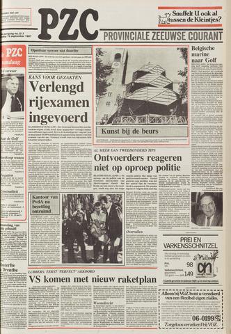 Provinciale Zeeuwse Courant 1987-09-15