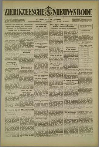 Zierikzeesche Nieuwsbode 1952-09-29