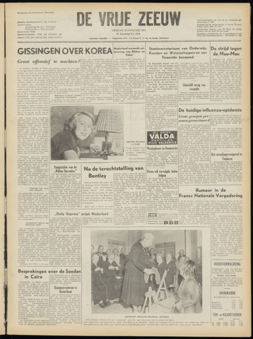 de Vrije Zeeuw 1953-01-30