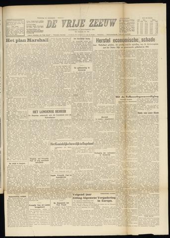 de Vrije Zeeuw 1947-11-22