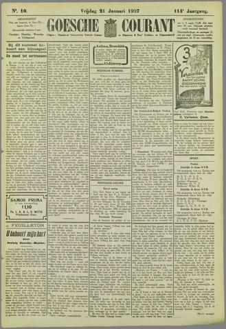 Goessche Courant 1927-01-21