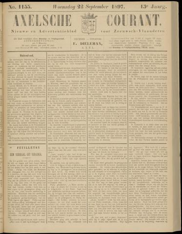 Axelsche Courant 1897-09-22