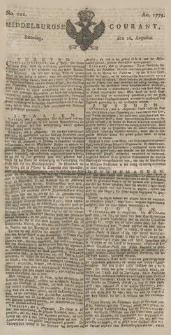 Middelburgsche Courant 1775-08-26