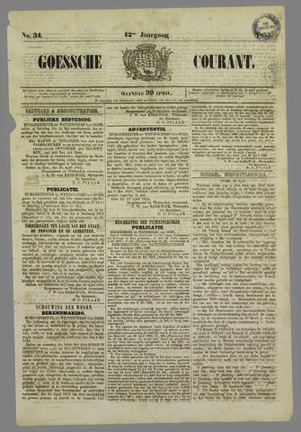 Goessche Courant 1855-04-30