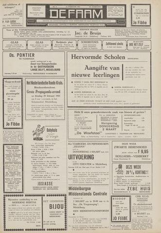 de Faam en de Faam/de Vlissinger 1961-02-24