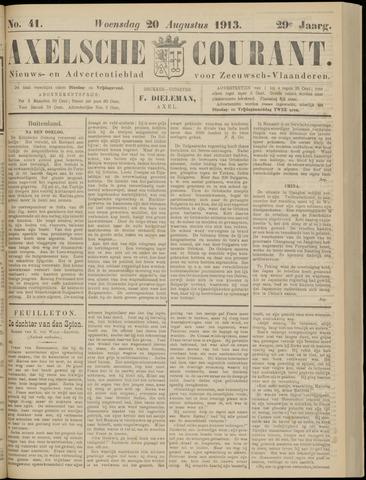Axelsche Courant 1913-08-20