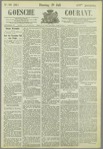 Goessche Courant 1913-07-29