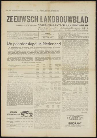 Zeeuwsch landbouwblad ... ZLM land- en tuinbouwblad 1953-11-07