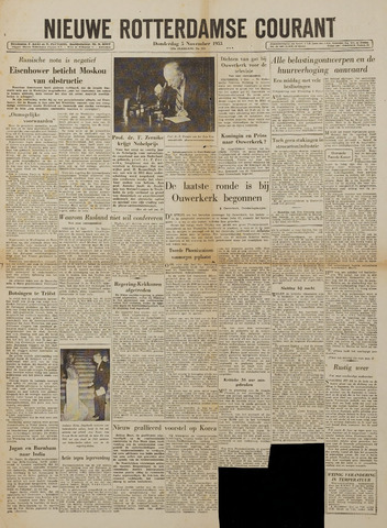 Watersnood documentatie 1953 - kranten 1953-11-05