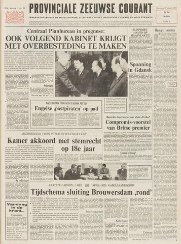 Provinciale Zeeuwse Courant 1971-01-20