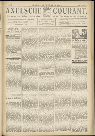 Axelsche Courant 1938-12-23