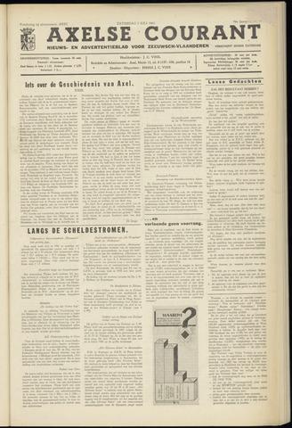 Axelsche Courant 1962-07-07
