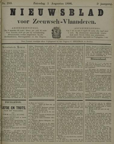 Nieuwsblad voor Zeeuwsch-Vlaanderen 1896-08-01