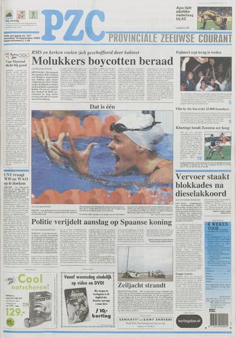 Provinciale Zeeuwse Courant 2000-09-18