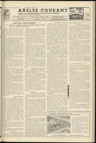 Axelsche Courant 1957-06-08