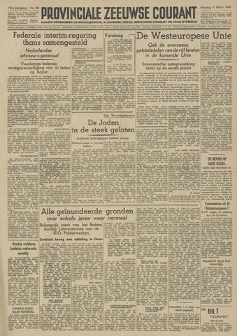 Provinciale Zeeuwse Courant 1948-03-09