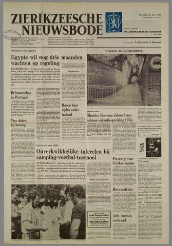 Zierikzeesche Nieuwsbode 1975-07-28