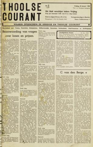 Ierseksche en Thoolsche Courant 1950-01-20