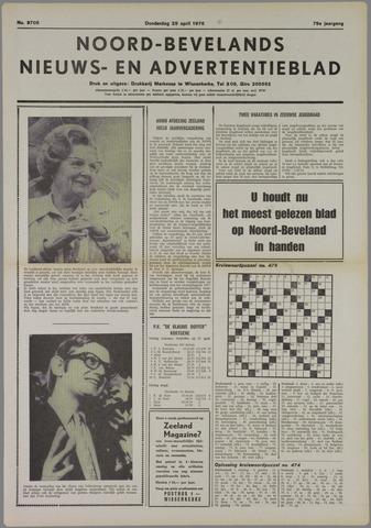 Noord-Bevelands Nieuws- en advertentieblad 1976-04-29