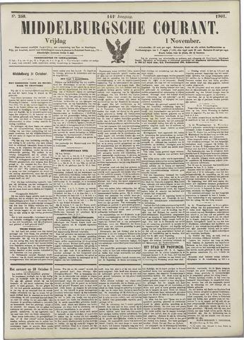 Middelburgsche Courant 1901-11-01