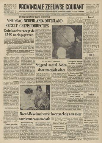 Provinciale Zeeuwse Courant 1961-02-07