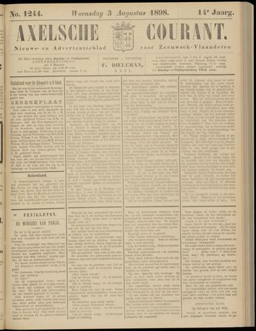 Axelsche Courant 1898-08-03