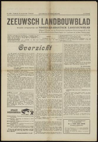 Zeeuwsch landbouwblad ... ZLM land- en tuinbouwblad 1953-02-21