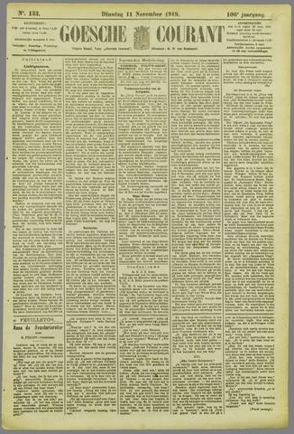Goessche Courant 1919-11-11