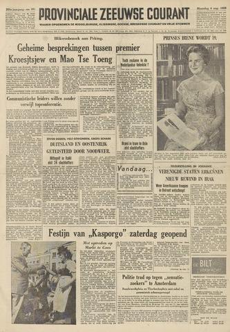 Provinciale Zeeuwse Courant 1958-08-04