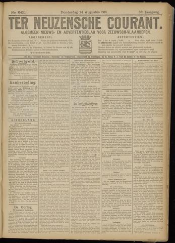 Ter Neuzensche Courant. Algemeen Nieuws- en Advertentieblad voor Zeeuwsch-Vlaanderen / Neuzensche Courant ... (idem) / (Algemeen) nieuws en advertentieblad voor Zeeuwsch-Vlaanderen 1916-08-24