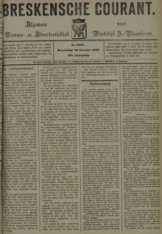 Breskensche Courant 1913-10-22