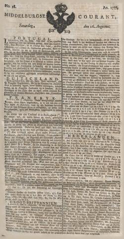 Middelburgsche Courant 1777-08-16